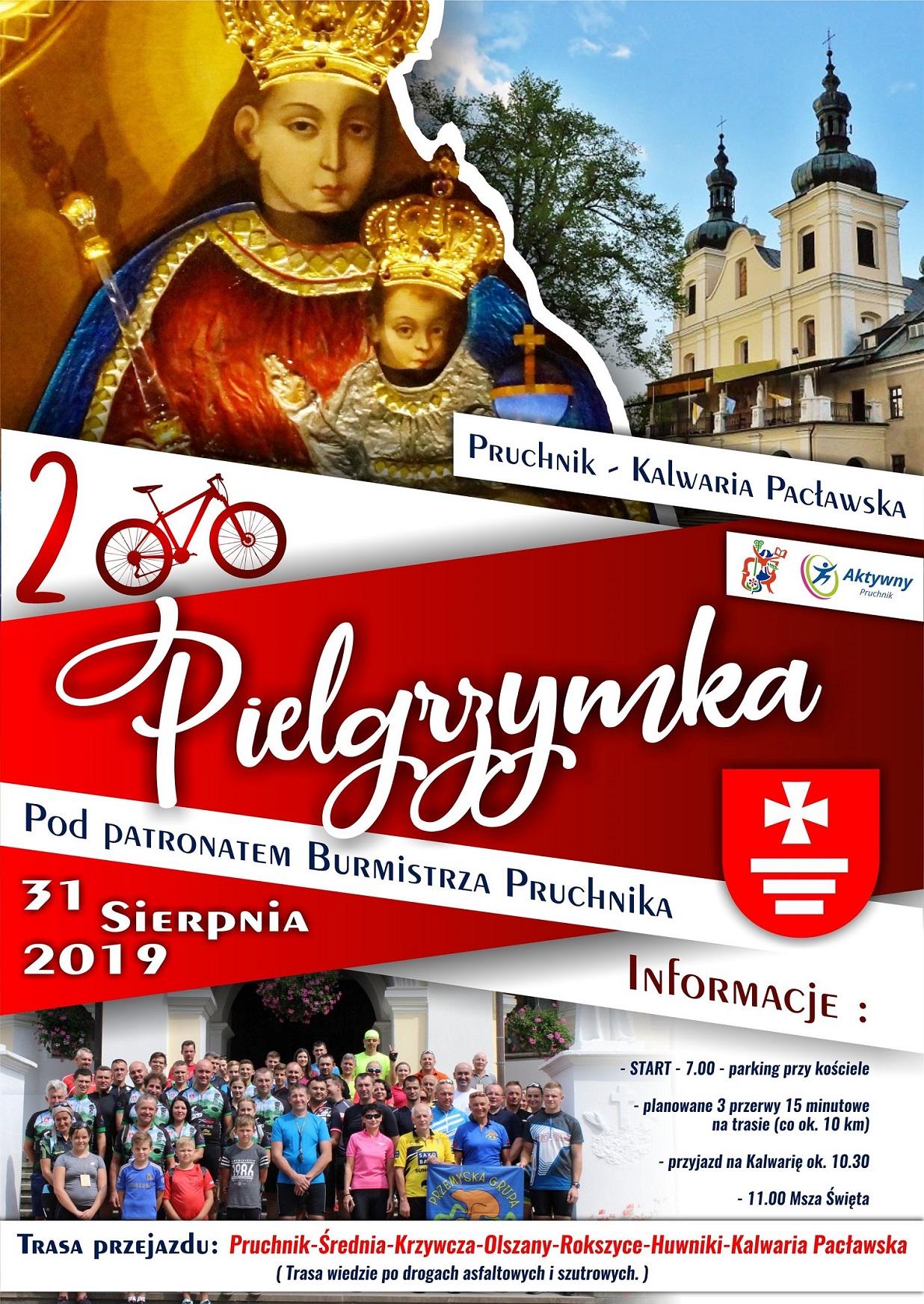 Galeria zdjęć: Rowerowa Pielgrzymka z Pruchnika do Kalwarii Pacławskiej